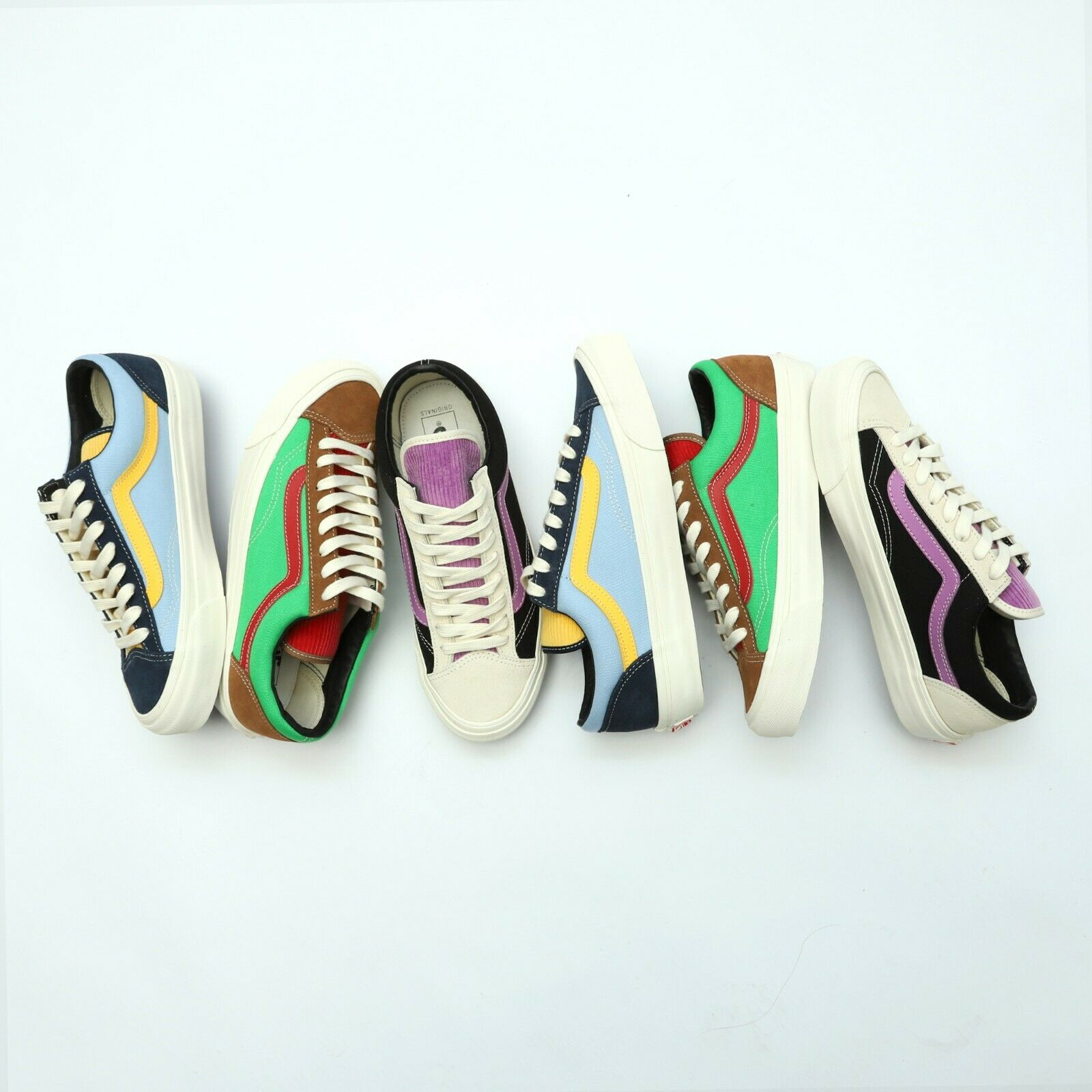 Details zu Vans Vault OG Style 36 LX Old Skool Suede Corduroy Canvas Skateboarding Shoes