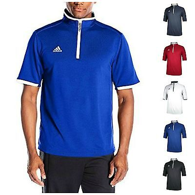 adidas Men's CLIMALITE Shockwave Quarter Zip Jacket