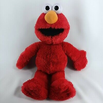 Sesame Street Tickle Me Elmo Talking Plush Soft Toy 2017 Red Laughing HeadStart