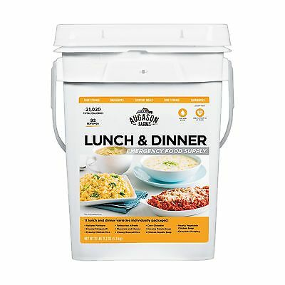 Emergency Food Bucket Storage Supply Survival Pail Lunch Dinner Kit Camping Day (Storage Buckets)