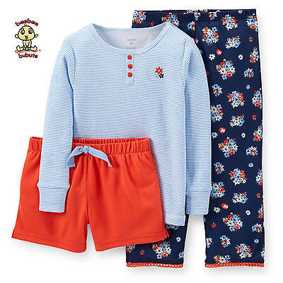 Carter's 3-pc Play and Sleepwear Set 24 months