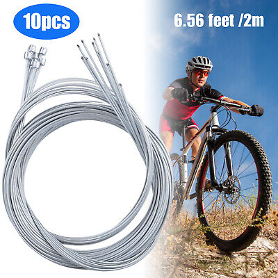 2m MTB Bicycle 4//5mm Brake Shift Cable Housing Cable Hose Kit for Shimano BD