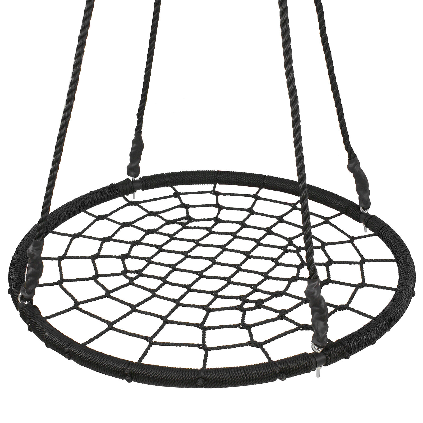 Web Tree Net Swing Large 40″ Spider 100% Safe Nylon Rope Max 600 LBs EZ Setup Outdoor Toys & Structures
