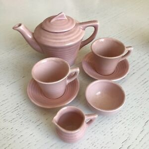Vintage Child's Pink Tea Set