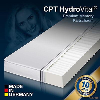 7 Zonen HydroVital 12 Wellness Komfort Marken Kaltschaum Matratze 90x200 H2&H3