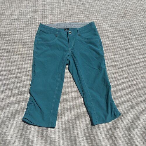 KUHL Sky Blue Cargo Roll Tab Hiking Walking Outdoor Shorts Women's Size 6