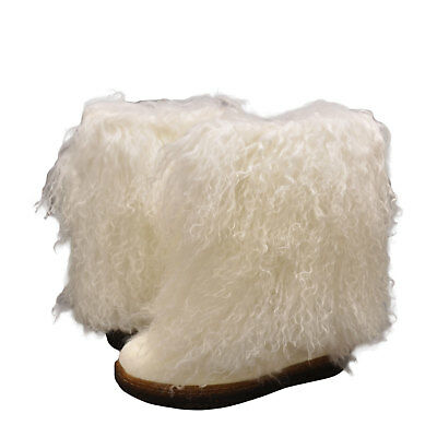 Women's Shoes Bearpaw Boetis Furry Winter Boots 1294W White - Furry Winter Boots