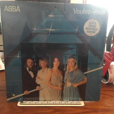 ABBA~VOULEZ-VOUS~RARE STILL SEALED ORIGINAL 1979 ATLANTIC LP Hype Sticker d'occasion  Expédié en Belgium