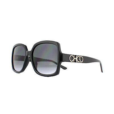 Jimmy Choo Sunglasses SAMMI/G/S 807 9O Black Dark Grey Gradient