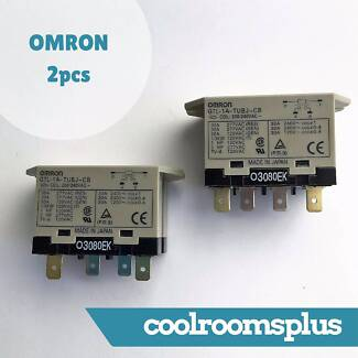 2 pcs Omron Power Relay G7L AC 30A Refrigeration Parts