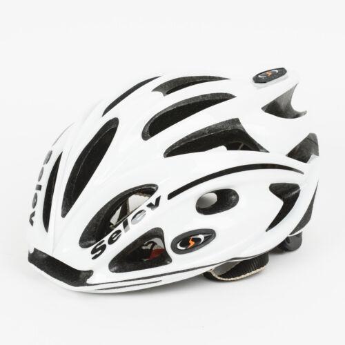 Selev Matrix Cycling Helmet Size Medium Adjustable White