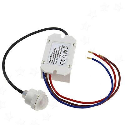 360 Degree Mini PIR Motion Detector Sensor Universal Mount Stand 800W Load