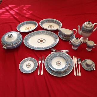 Wedgwood. Dinner and Coffee Set, Turquoise Florentine, 8 settings Margaret River Margaret River Area Preview