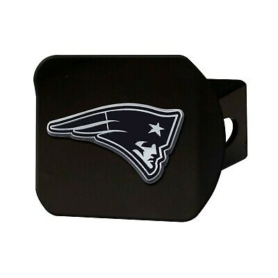 Fanmats NFL New England Patriots 3D Chrome on Black Hitch Cover Del. 2-4 Days