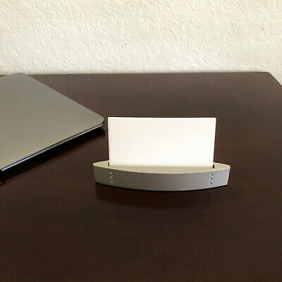 Business Card Holder For Desk - Business Card Display - Office Desk Home Office