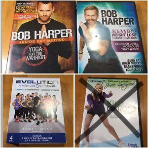 DVD exercices Jimmy Sévigny Bob Harper