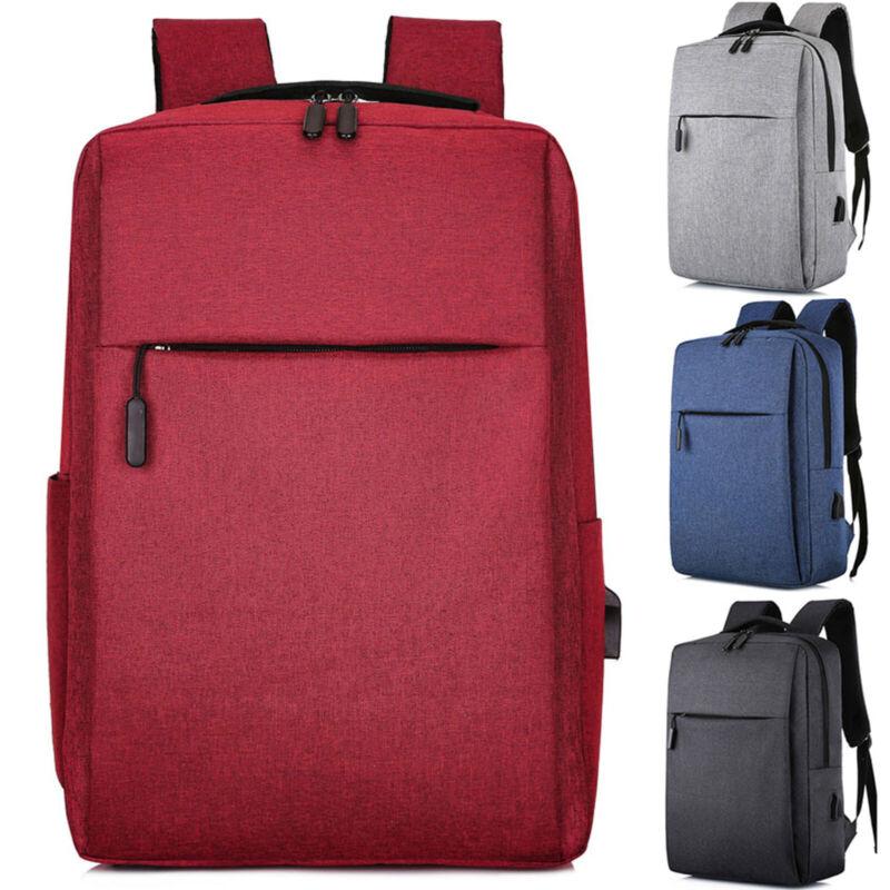 Men Laptop Backpack Business School Rucksack Casual Travel S