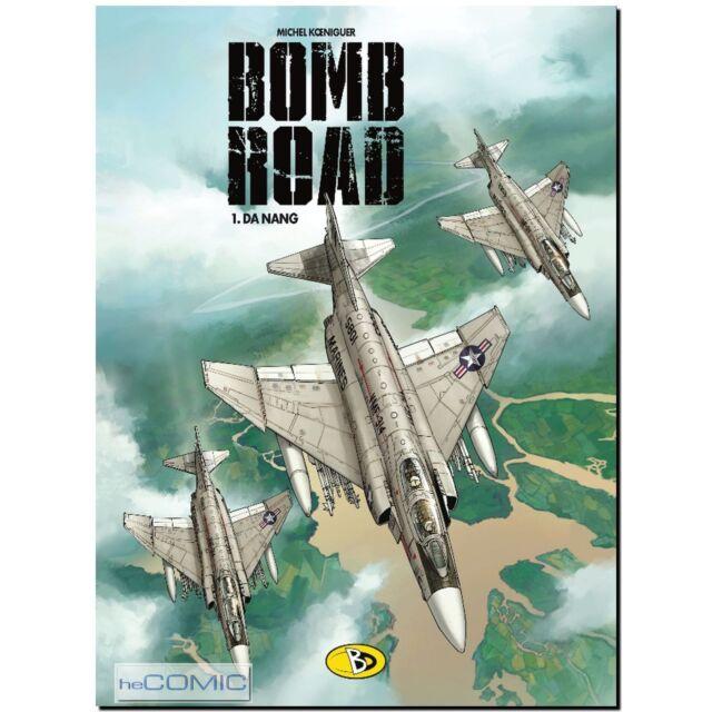 Bomb Road 1 Da Nang Michel Königeur VIETNAM FLIEGERSTAFFEL COMIC LP 60er