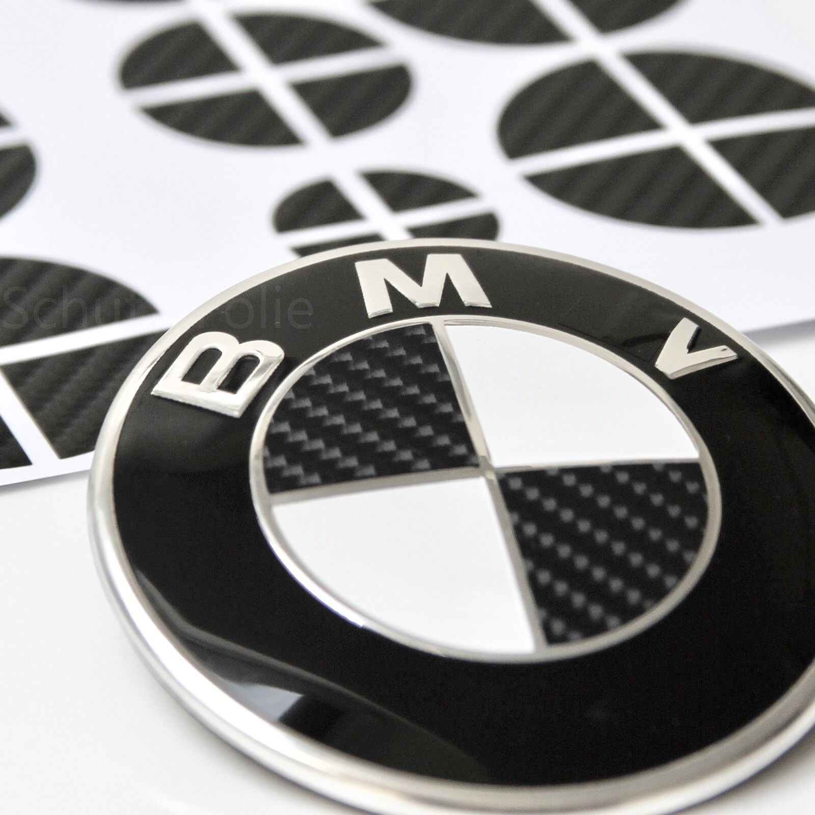 70x aufkleber 4d carbon bmw emblem felgen logo nabendeckel tuning m 1 2 3 4 5 ebay. Black Bedroom Furniture Sets. Home Design Ideas