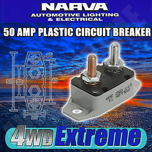 NARVA-50-AMP-CIRCUIT-BREAKER-AUTO-RESET-BATTERY-50A-CARAVAN-FUSE-54850