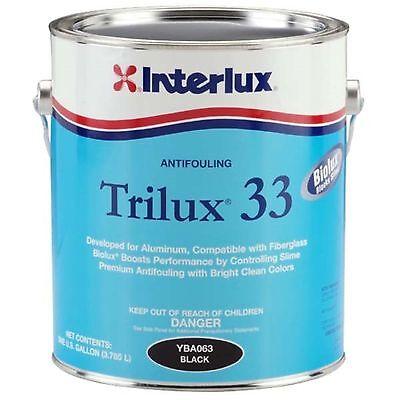 Antifouling Paint (Interlux Trilux 33 Antifouling Bottom Paint Gallon - Pick A Color )