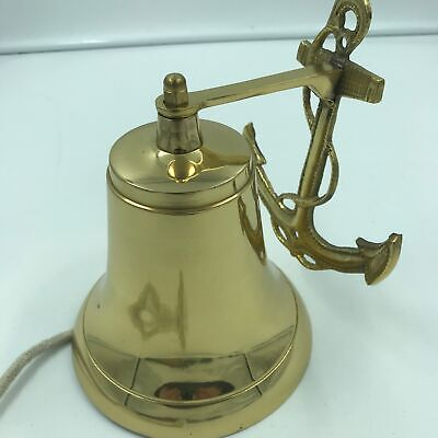 Nautical Ship's Boat Bell w/ Anchor 6