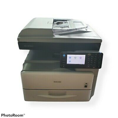 Ricoh Aficio Mp 301spf Adobe Postscript Copier Printer Scanner Fax Counter 8206