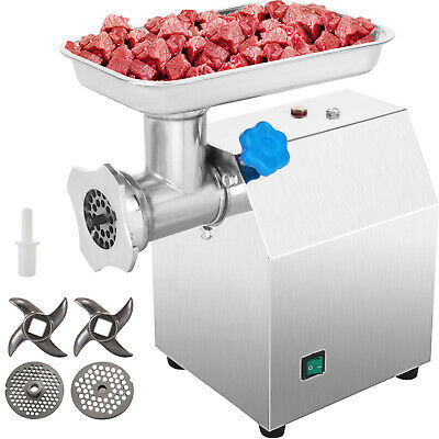 Vevor Stainless Steel Commercial Meat Grinder 850w 190rmin Electric Industrial