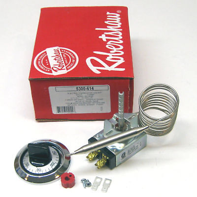 Thermostat W Dial Bulb 38 X 4-12 Temp 60-250 Cap 48 Henny Penny Warmer 461003
