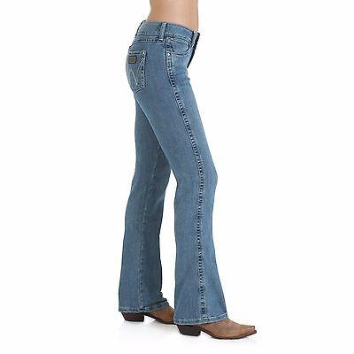 WRANGLER Women's Mae Premium Patch STRETCH Medium Boot Cut Jeans 09MWZSN NWT (Womens Premium Patch)