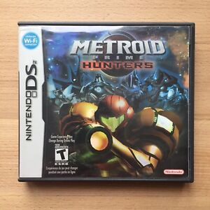 METROID Prime Hunters Nintendo Ds Video Game excellent condition