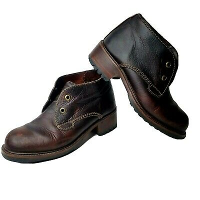 Cole Haan womens Boots Size 8.5 Missing Laces Ankle Heel winter fall holiday Fall Lace Boots