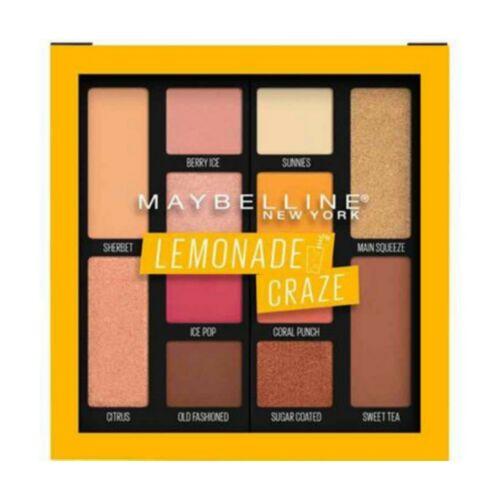 Maybelline Lemonade Craze Eyeshadow Palette Makeup, 12 Shade