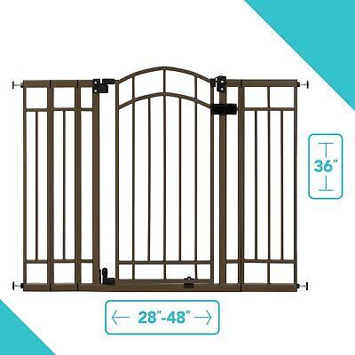 Summer Infant Extra Tall Decorative Walk-Thru Gate, 2 Gate V