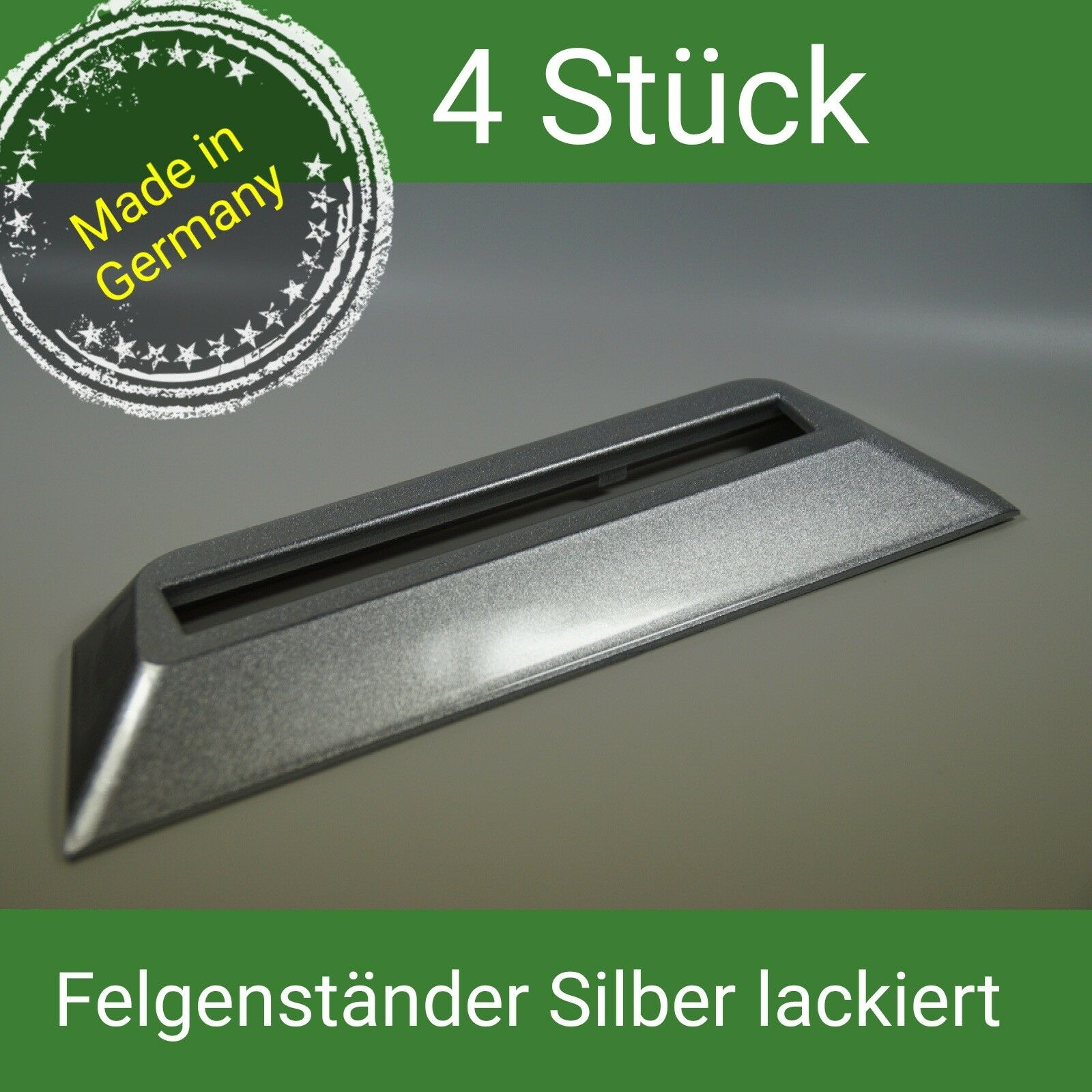 4x Nabenkappen Felgendeckel 60 mm Rial Alutec Anzio ATS Schwarz