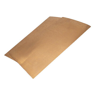 Us Stock 2pcs 0.15 X 100 X 200mm C17200 Beryllium Bronze Thin Sheet Foil Plate