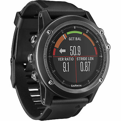 Garmin Fenix 3 Hr Sapphire Multisport Training Gps Watch 010 01338 70