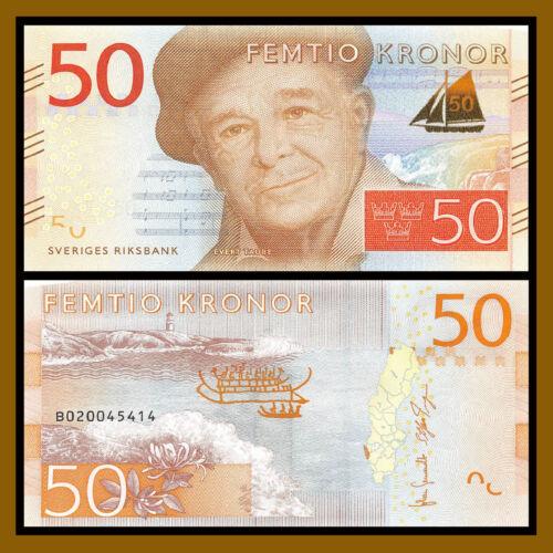 Sweden 50 Kronor, 2015 P-70 Unc