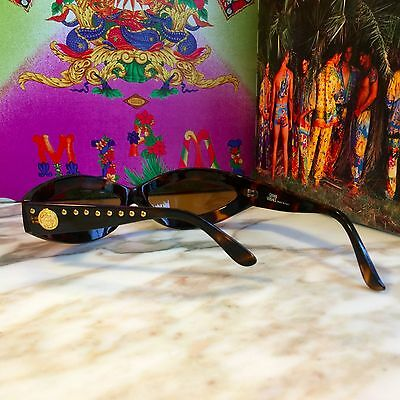 1993 vintage GIANNI VERSACE studded sunglasses Mod. 440 / M  Col. 649 ND w/ case