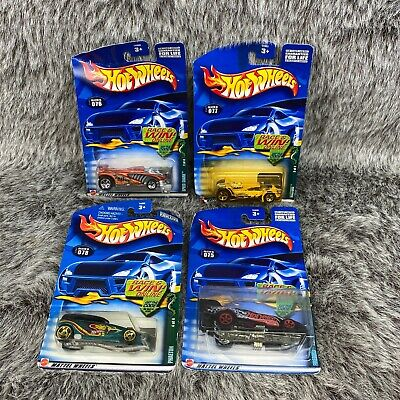 Hot Wheels 2002 077 Vulture 078 Phaeton 076 Speed Shark 075 Firebird Funny Car