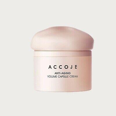 ACCOJE  Anti-aging Volume Capsule Cream 1.69oz / 50ml  Just 4 week  K-beauty