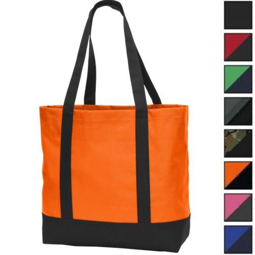 Plain Large All Day Tote Bag Market Grocery Tote Book Bag Teacher Beach Nurse