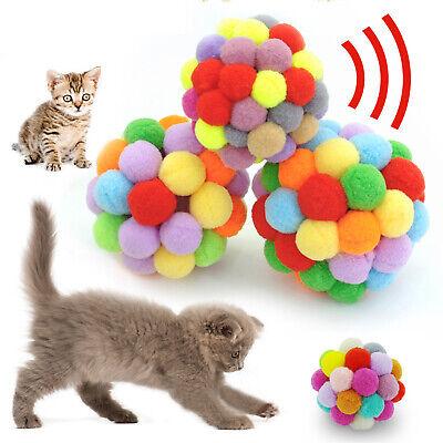 Katzenspielzeug Spielball Interaktives Spielzeug mit Bell Haustier Hund Plüsch Hund Plüsch Spielzeug