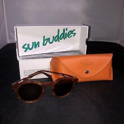 Sun Buddies Eyewear Sunglasses Model ZINEDINE Brown Smoke UV Protection NEW P13