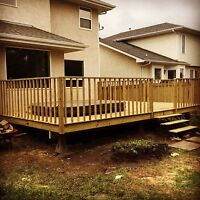 Decks and Fencing- Book now and avoid the spring rush!!