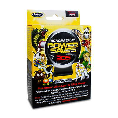 DATEL Power Saves Action Replay Cheatmodul f. (New) Nintendo 3DS 2DS /...