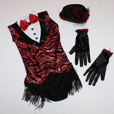 Chicago Custom Costumes (Girls Chicago Dance Custom Pageant Costume Ballet Jazz Tap Musical Theater 5 6)