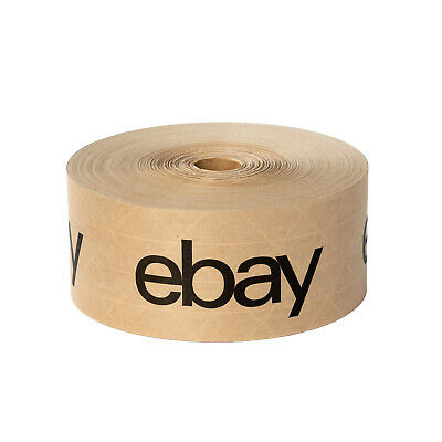 New Edition Ebay Branded Brown Water Tape Wblack Lettering 2.75 X 166 Yards