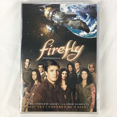Fireflies The Movie (Firefly - The Complete Series (DVD, 4-Disc Set, Slim)