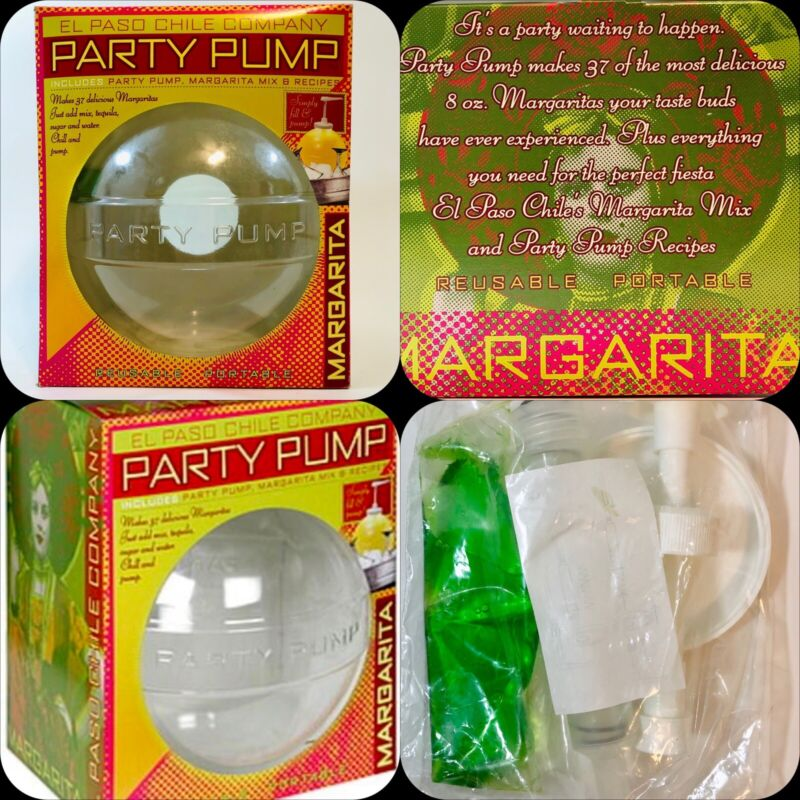 """Margarita Party Ball with Pump Dispenser """"Just add Tequila to Pump Up The Party"""""""